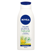 Bild: NIVEA Pure & Natural Body Milk