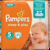 Bild: Pampers Sleep & Play Gr.5 (11-25kg)
