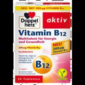 Bild: DOPPELHERZ Vitamin B12 30 Tabletten
