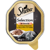 Bild: Sheba Selection in Sauce mit Geflügelhäppchen