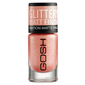 Bild: GOSH Frosted Nail Lacquer frosted soft coral