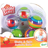 Bild: Bright Starts Shake & Spin Activity Balls