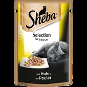Bild: Sheba Selection in Sauce mit Huhn