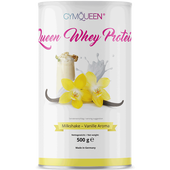 Bild: GYMQUEEN Queen Whey Protein Milkshake Vanille Aroma