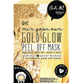 Bild: Oh K! Mix Your Own Gold Glow Peel Off Mask