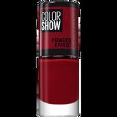 Bild: MAYBELLINE Color Show Powder Effect Nagellack 516 cruel ruby