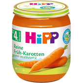 Bild: HiPP Reine Früh-Karotten
