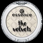 Bild: essence The Velvets Eyeshadow fluffy clouds