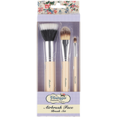 Bild: The Vintage Cosmetic Company Airbrush Gesichtspinselset
