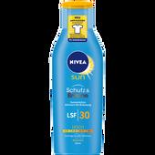 Bild: NIVEA Sun Schutz & Bräune Sonnenlotion LSF 30