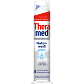 Bild: Theramed Naturweiß Fluorid-Zahncreme