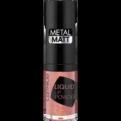 Bild: Catrice Liquid Lip Powder metal matt