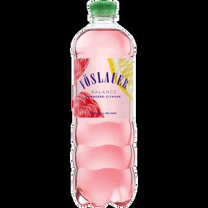 Bild: VÖSLAUER Balance Himbeer-Zitrone Mineralwasser