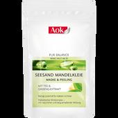 Bild: Aok PURE BALANCE Seesand Mandelkleie Maske & Peeling