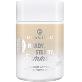 Bild: essence Ready, Steady, Summer! Instant Refresh Dry Shampoo Powder braunes Haar
