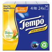 Bild: Tempo plus Sensitive Skin Taschentücher