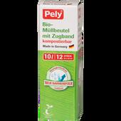 Bild: Pely BIO-Müllbeutel mit Zugband 10 Liter