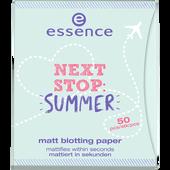 Bild: essence Matt Blotting Paper Next Stop: Summer