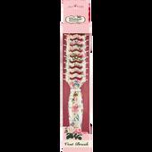 Bild: The Vintage Cosmetic Company Luftschlitz Föhnbürste blumig