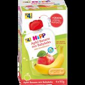 Bild: HiPP Apfel-Banane & Babykeks Quetschbeutel