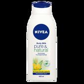 Bild: NIVEA Pure & Natural Body Milk