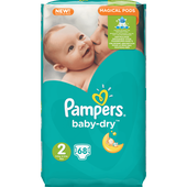 Bild: Pampers Baby-Dry Gr.2 (3-6kg) Big Bag