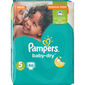 Bild: Pampers Baby-Dry Gr. 5 (11-23kg) Big Bag
