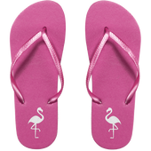 Bild: LOOK BY BIPA Flip Flop pink mit Flamingo