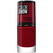 Bild: MAYBELLINE Color Show Powder Effect Nagellack 516 cruel ruby