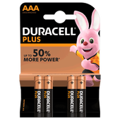 Bild: DURACELL PLUS Micro 1,5 Volt AAA