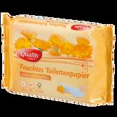 Bild: QUALITY first Feuchtes Toilettenpapier sensitive Nachfüllung