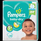 Bild: Pampers Baby-Dry Gr. 5+ (12-17kg) Value Pack