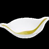Bild: KOZIOL Salatschale LEAF mit Besteck weiß/grün