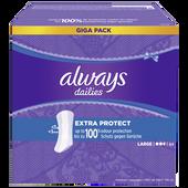 Bild: always Fresh & Protect Slipeinlagen extra protect Giga Pack