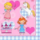 Bild: PAPSTAR Servietten Princess Dream