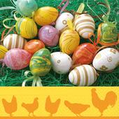 Bild: Paper + Design Servietten Easter Scene
