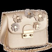 Bild: LOOK BY BIPA Crossbody Bag Flower gold