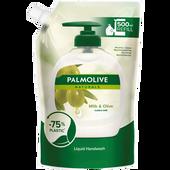 Bild: Palmolive Naturals Flüssigseife Olive & Milch Nachfüllung