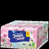 Bild: Tempo Taschentücher Box Limited Edition Gartenglück mit Duft