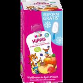 Bild: HiPP Hippis Waldbeere in Apfel-Pfirsich