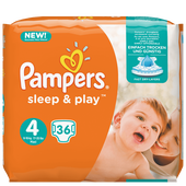 Bild: Pampers Sleep & Play Gr.4 (7-18kg)