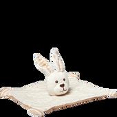 Bild: Grünspecht Bio-Schmusetuch Hase