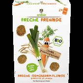Bild: Freche Freunde Freche Gemüsebratlinge Karotte & Lauch