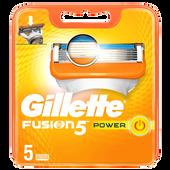 Bild: Gillette Fusion Fusion 5 Power Klingen
