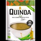 Bild: PAUL´S QUINOA Erbsen & Kreuzkümmel Suppe