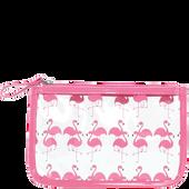 Bild: LOOK BY BIPA Kosmetiktasche Flamingo klein