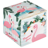 Bild: KARTIKA Flamingo Taschentuchbox