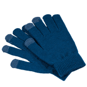 Bild: LOOK BY BIPA Smartphone Handschuhe blau