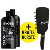 Bild: syoss PROFESSIONAL Salon Plex Reparatur Revolution Shampoo + Bürste