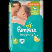Bild: Pampers Baby-Dry Gr. 4 (8-16kg) Big Bag